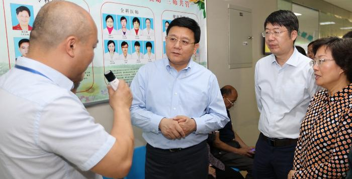 王贺胜副主任赴福建省调研督导医改工作